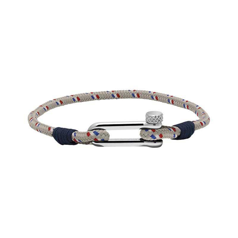 Bracelet homme cordage marin