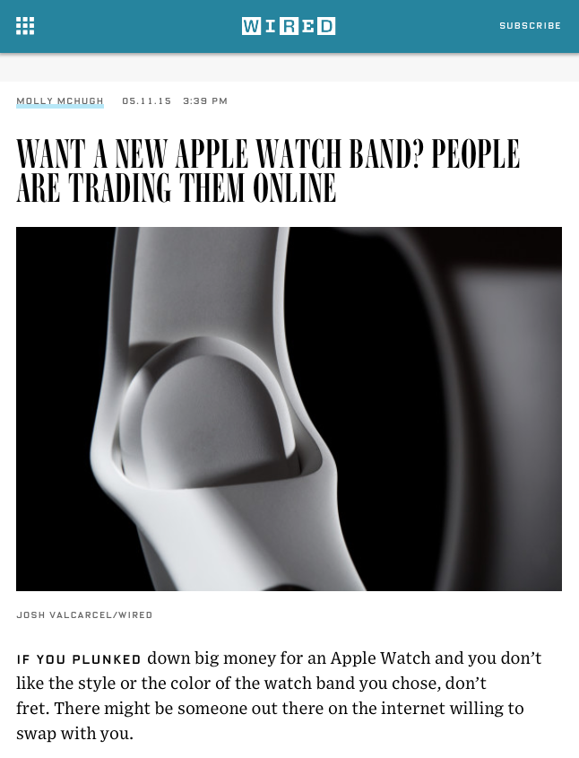 wired-band-band-article-echange-vente-bracelet-apple-watch-trading