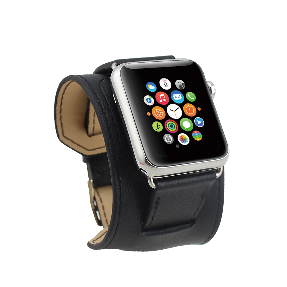 bracelet cuir apple watch sport bijoux la mode. Black Bedroom Furniture Sets. Home Design Ideas