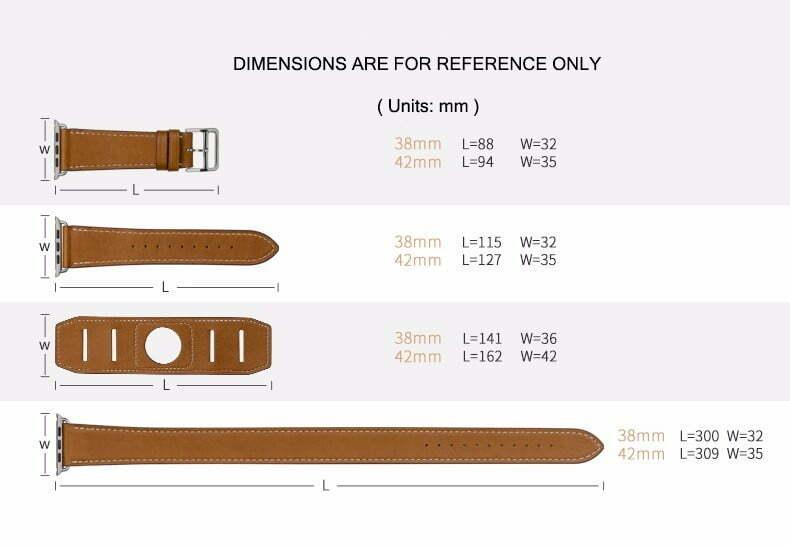 Taille des bracelets HOCO Deluxe