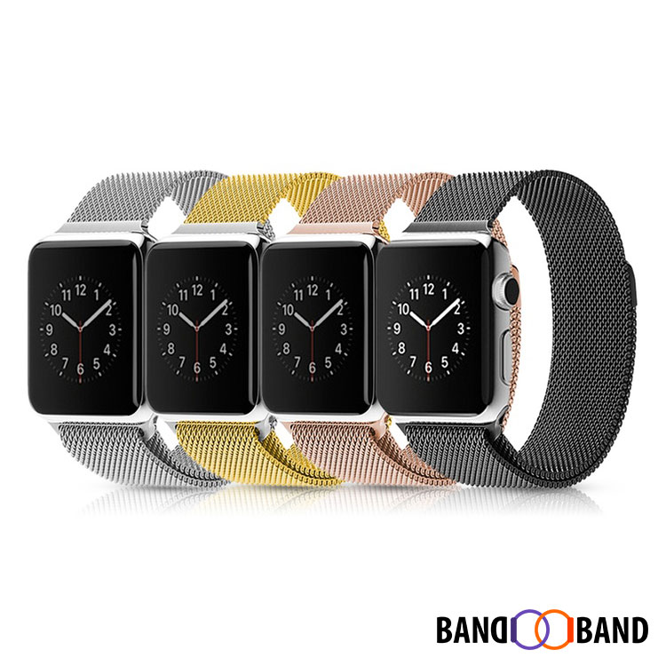 bracelet milanais acier inoxydable apple watch band band. Black Bedroom Furniture Sets. Home Design Ideas