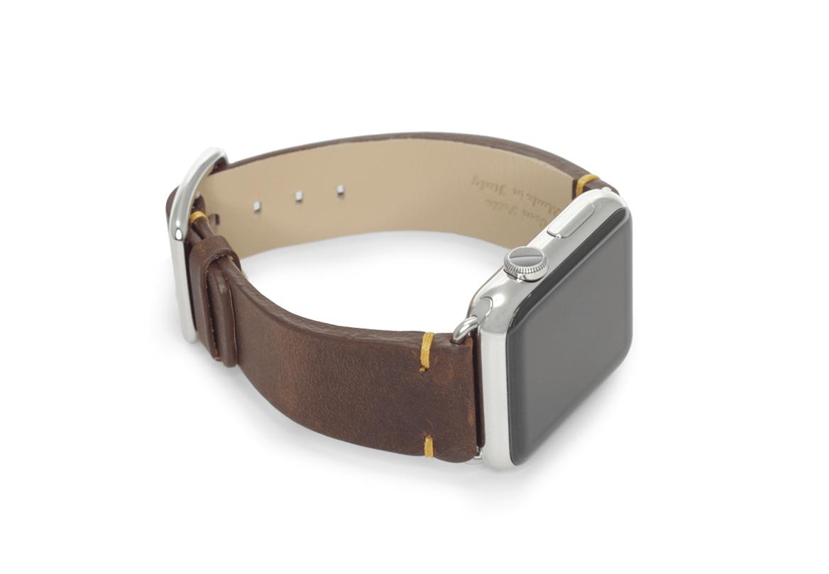Meridio - Vintage - Bracelets cuir Made in Italy