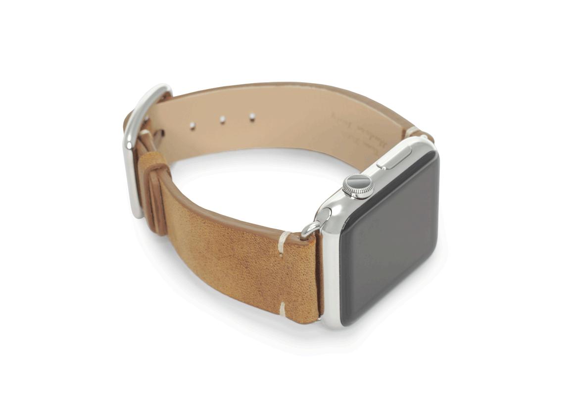 Smoked Walnut - Meridio - Vintage - Bracelets cuir Made in Italy