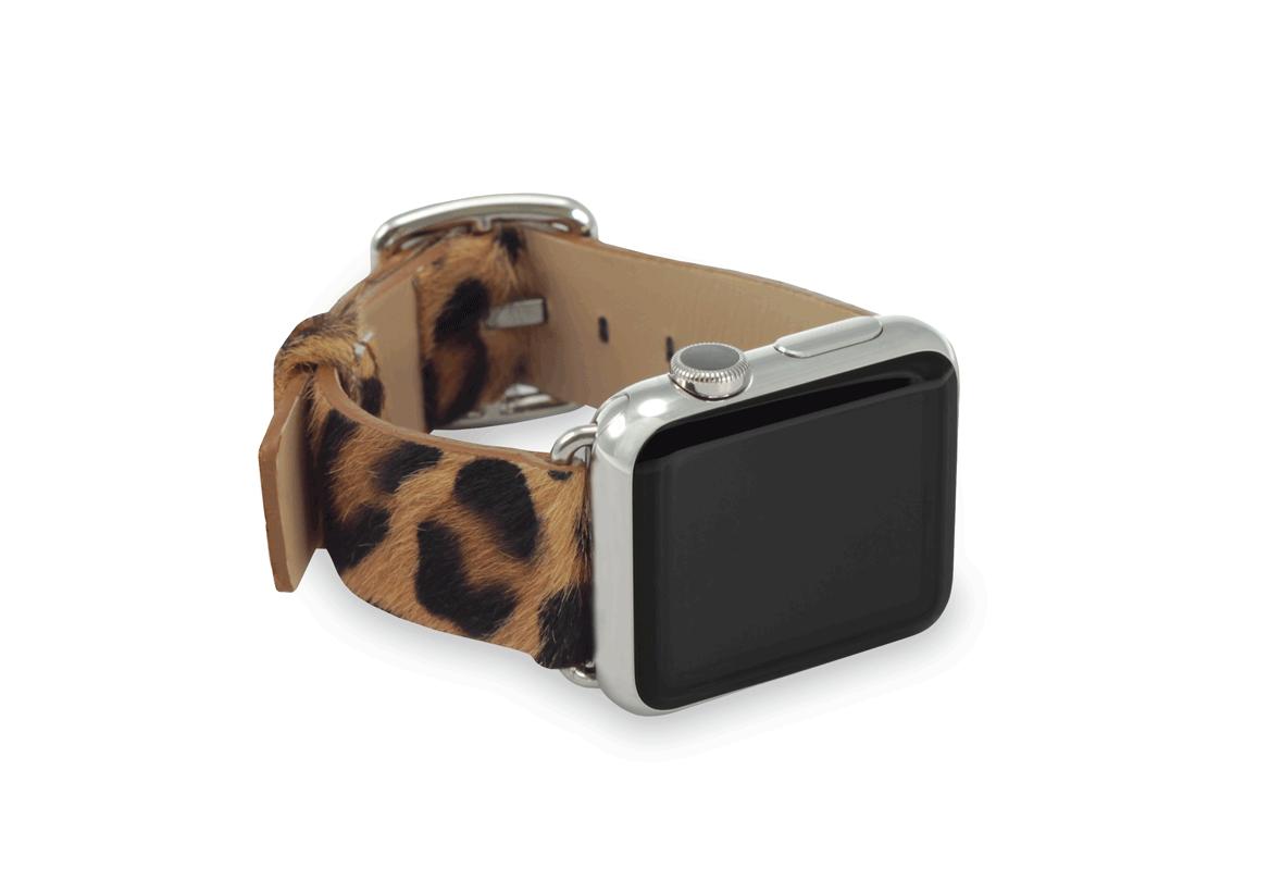 Spotty Cheetah - Meridio - Cavallino - Bracelets cuir Made in Italy