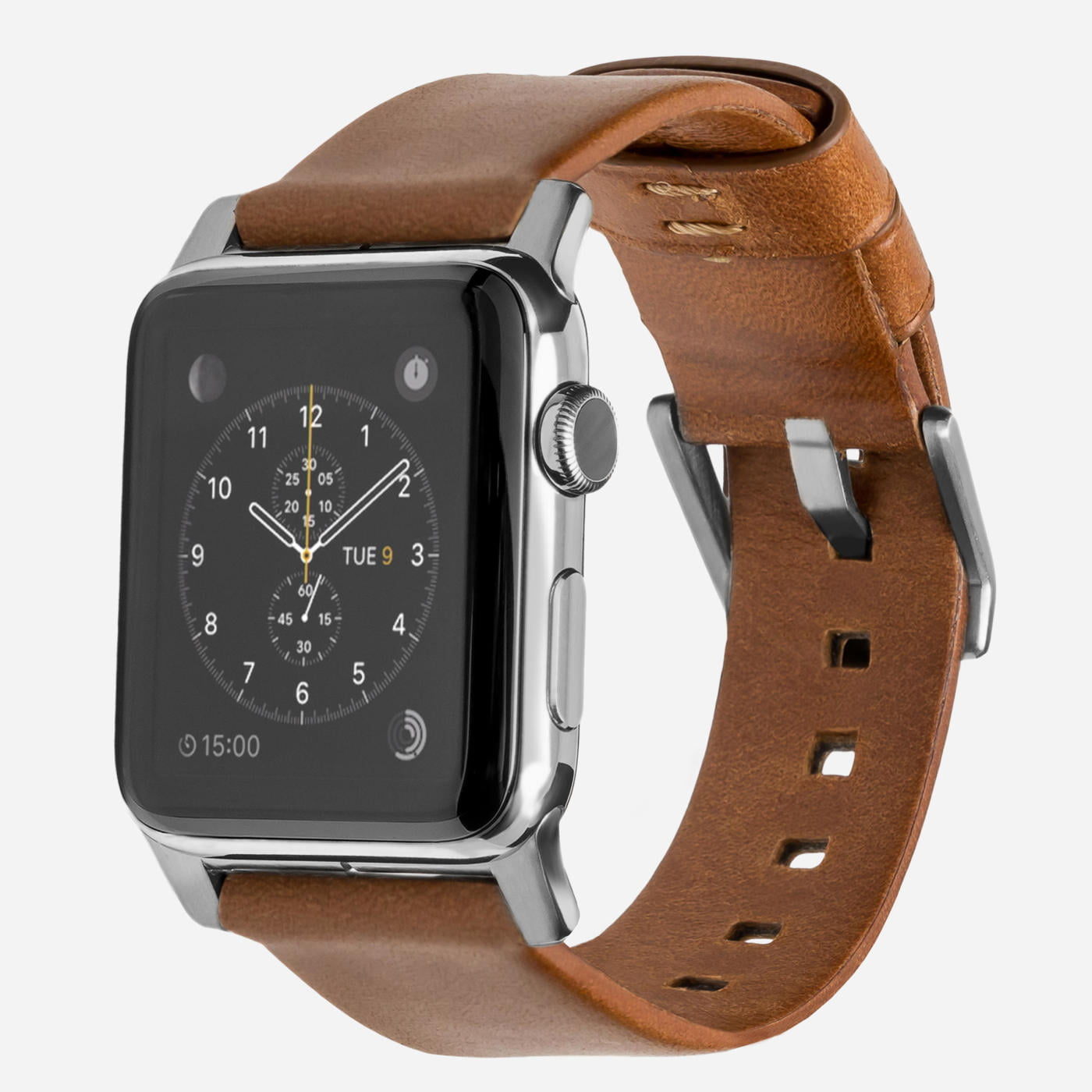 Nomad - Modern - Bracelet cuir Apple Watch