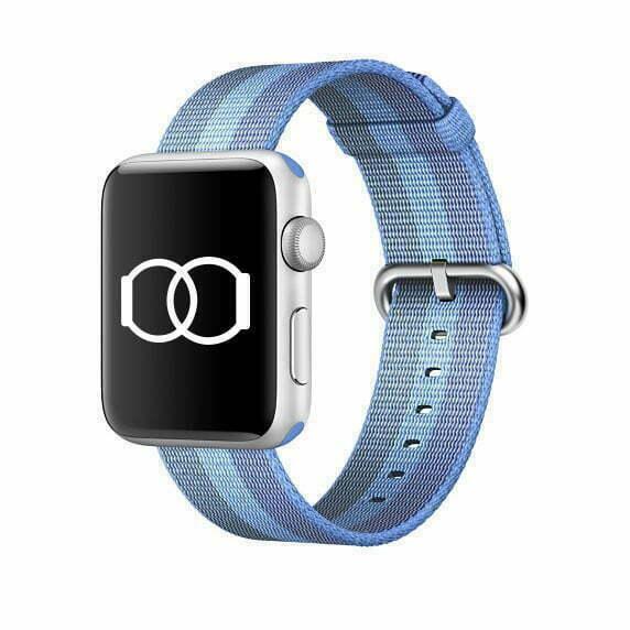 Bracelet océan en Nylon tissé Apple Watch 38mm