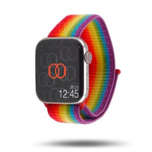 Pride édition - Bracelet en nylon tissé Apple Watch