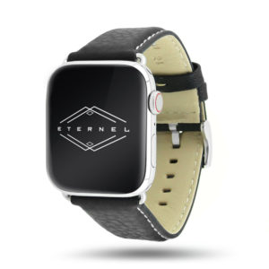 Astralis marron Apple Watch - Bracelet cuir de taureau étanche