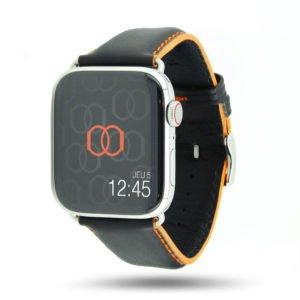 Corium Apple Watch - Bracelet cuir de veau étanche