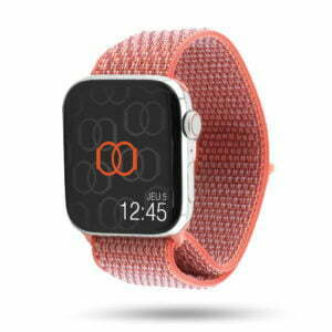 Boucle sport nylon tissé - Collection Fin 2018 - Apple Watch