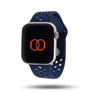 Bracelet sport respirant Apple Watch – 100% fluoroélastomère