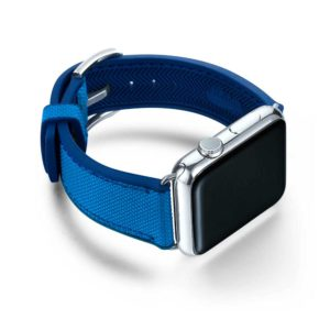 Bracelet Apple Watch Caoutchouc de Meridio - Made in Italy