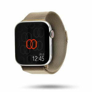 Milanese loop watch band in woven stainless steel mesh – Apple Watch