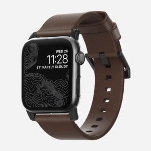 Nomad - Modern - Leather strap Apple Watch