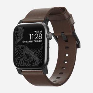 Nomad - Modern - Bracelet cuir Apple Watch