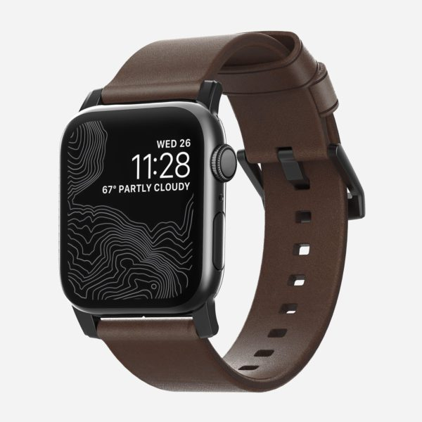 Nomad - Modern - Leather strap Apple Watch   Band-Band