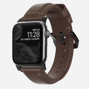 Nomad - Traditional - Leather strap Apple Watch