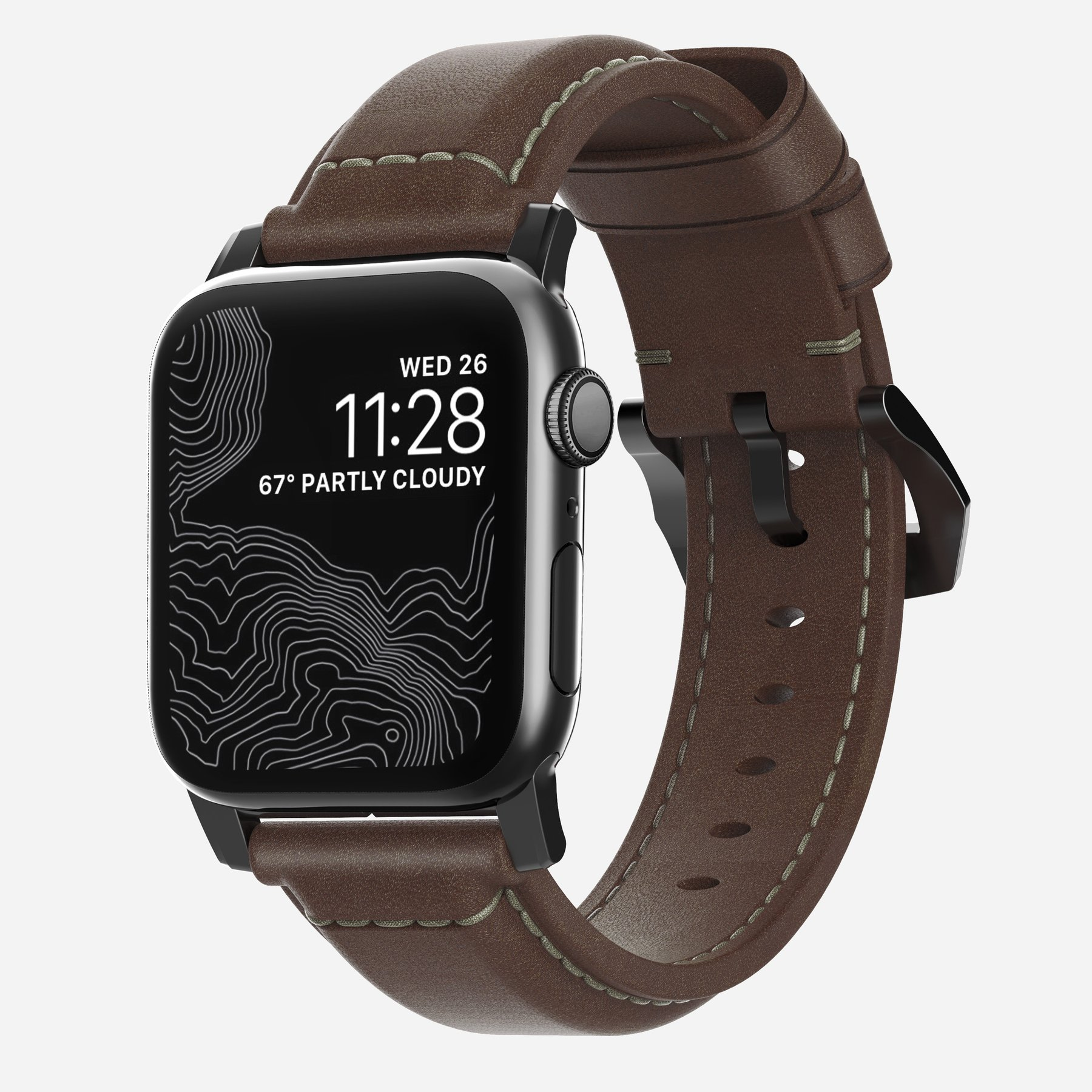 Nomad - Traditional - Leather strap Apple Watch | Band-Band