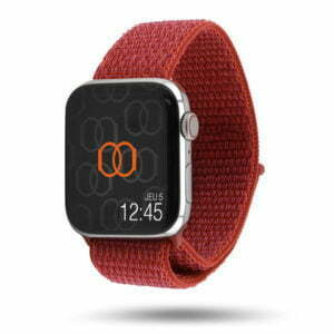 Boucle sport nylon tissé - Collection Début 2019 - Apple Watch