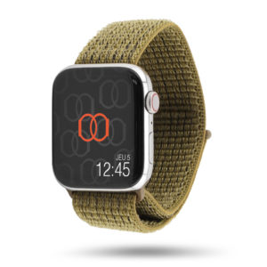 Boucle sport Vert olive - Collection Début 2019 - Apple Watch