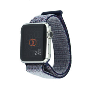 Boucle sport Bleu nuit - Nylon tissé - Apple Watch