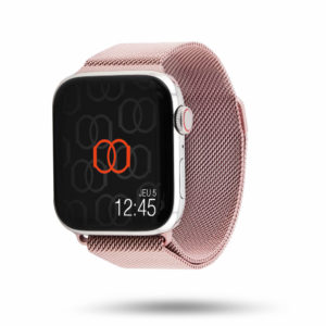 Bracelet Milanais Acier Inoxydable - Apple Watch