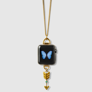 Bucardo - Apple Watch Arrow Charm Necklace