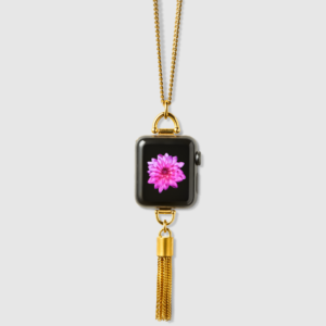 Bucardo - Collier Apple Watch avec charm pompon