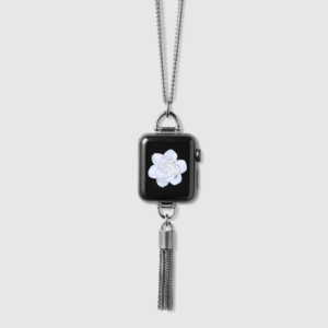 Bucardo - Collier Apple Watch avec charm pompon