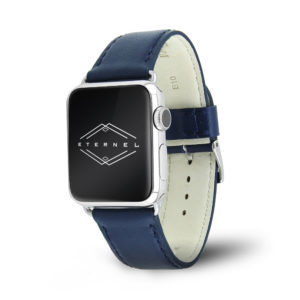Holi Apple Watch - Bracelet cuir de vachette