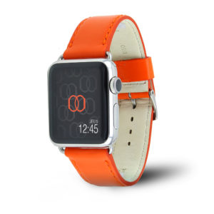Holi Apple Watch - Bracelet cuir de vachette