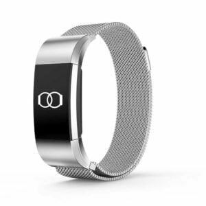 Milanese loop woven stainless steel mesh – Fitbit Charge 2