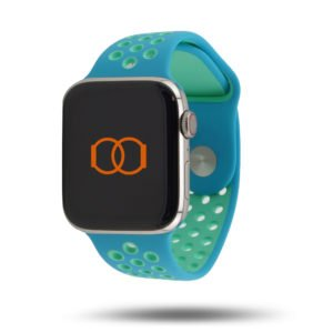 Bracelet sport respirant Apple Watch – 100% fluoroélastomère