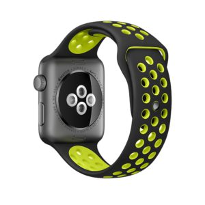 Bracelet sport respirant Apple Watch - 100% fluoroélastomère