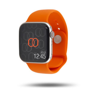 Bracelet Sport Apple Watch - 100% fluoroélastomère