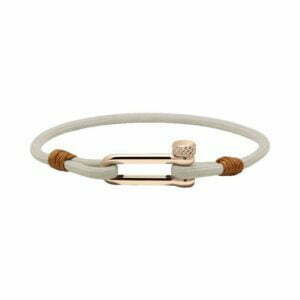 ROCHET manila bracelets - Leather, Nylon and Rope - St Barth ivory nylon