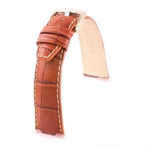 Sobek - Bracelet cuir de veau grain alligator - Nokia, Withings, Fitbit, Samsung