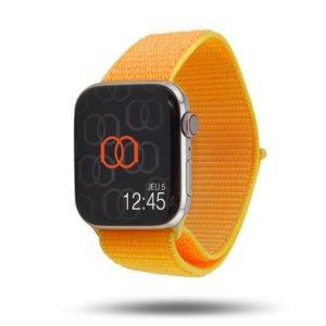 Boucle sport nylon tissé - Collection Printemps 2019 - Apple Watch