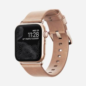 Nomad – Modern Slim – Apple Watch Leather band