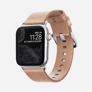 Nomad – Modern Slim – Bracelet cuir Apple Watch