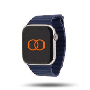 Boucle cuir aimanté – Bracelet Apple Watch