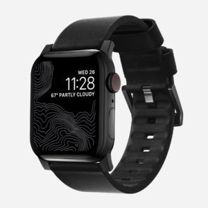 NOMAD - Active strap - Leather waterproof Apple Watch band