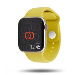 Bracelet Sport Apple Watch - 100% fluoroélastomère