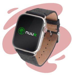 Nuuk - Pina colada - Bracelet végan en fibre d'ananas - Apple Watch