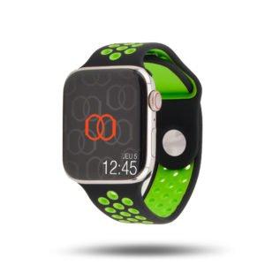 Sport Band breathable Apple Watch – 100% fluoroelastomer