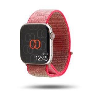 Boucle sport nylon tissé - Collection Printemps 2020 - Apple Watch