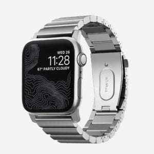Nomad – Titanium – Bracelet en titane Apple Watch