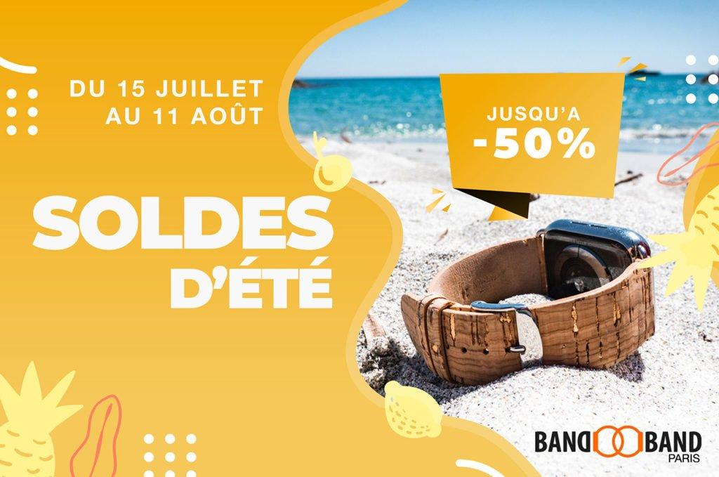 Soldes été 2020 bracelets Apple Watch Band-Band