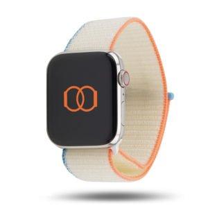 Boucle sport nylon tissé - Fin 2020 - Apple Watch