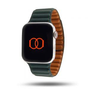 Maillons cuir aimanté – Bracelet Apple Watch
